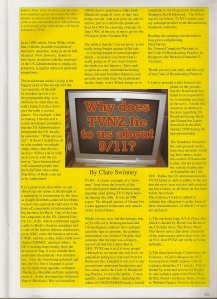Magazine Article I'd written Showed I Was Sane