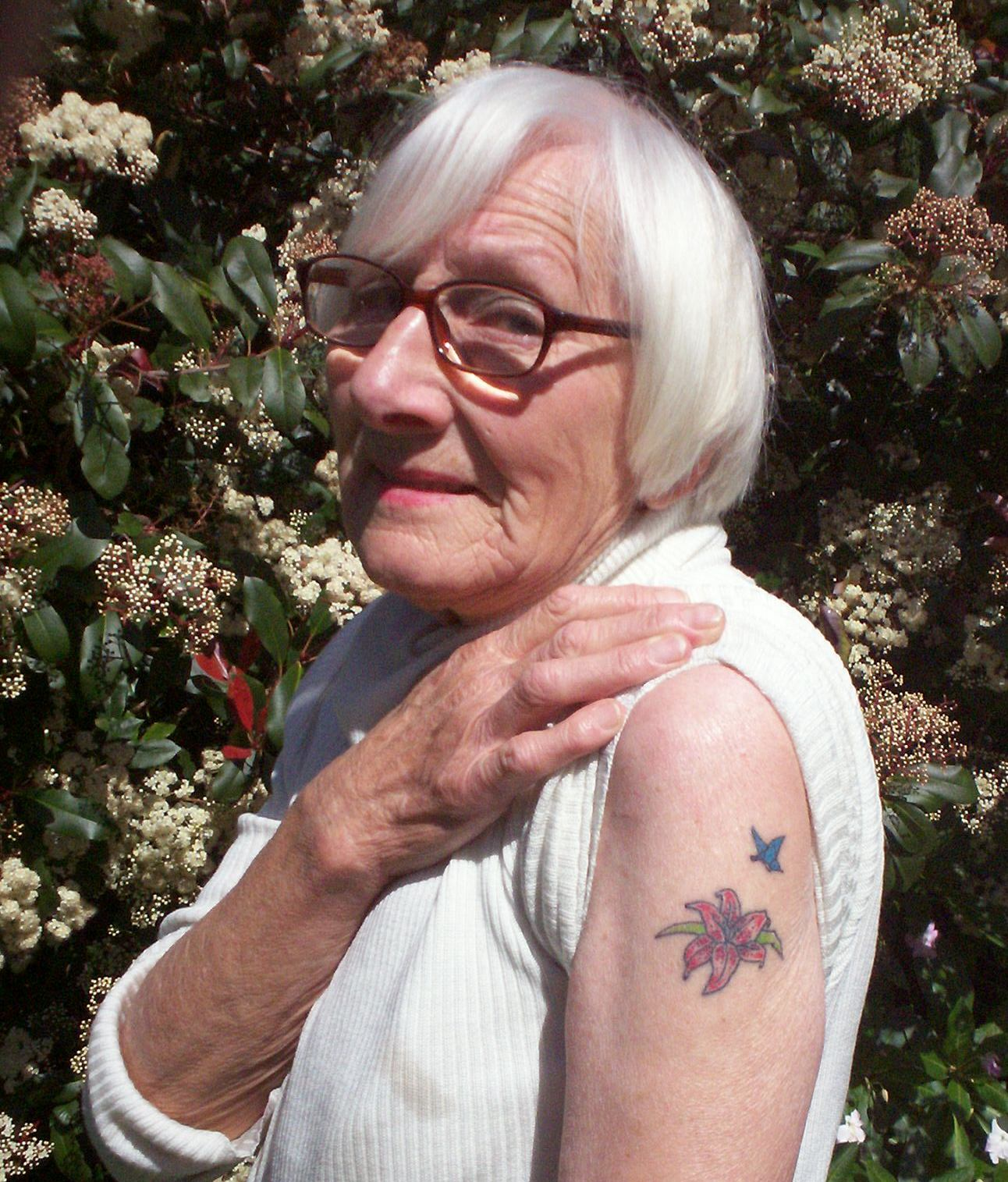 Old Lady Tattoos